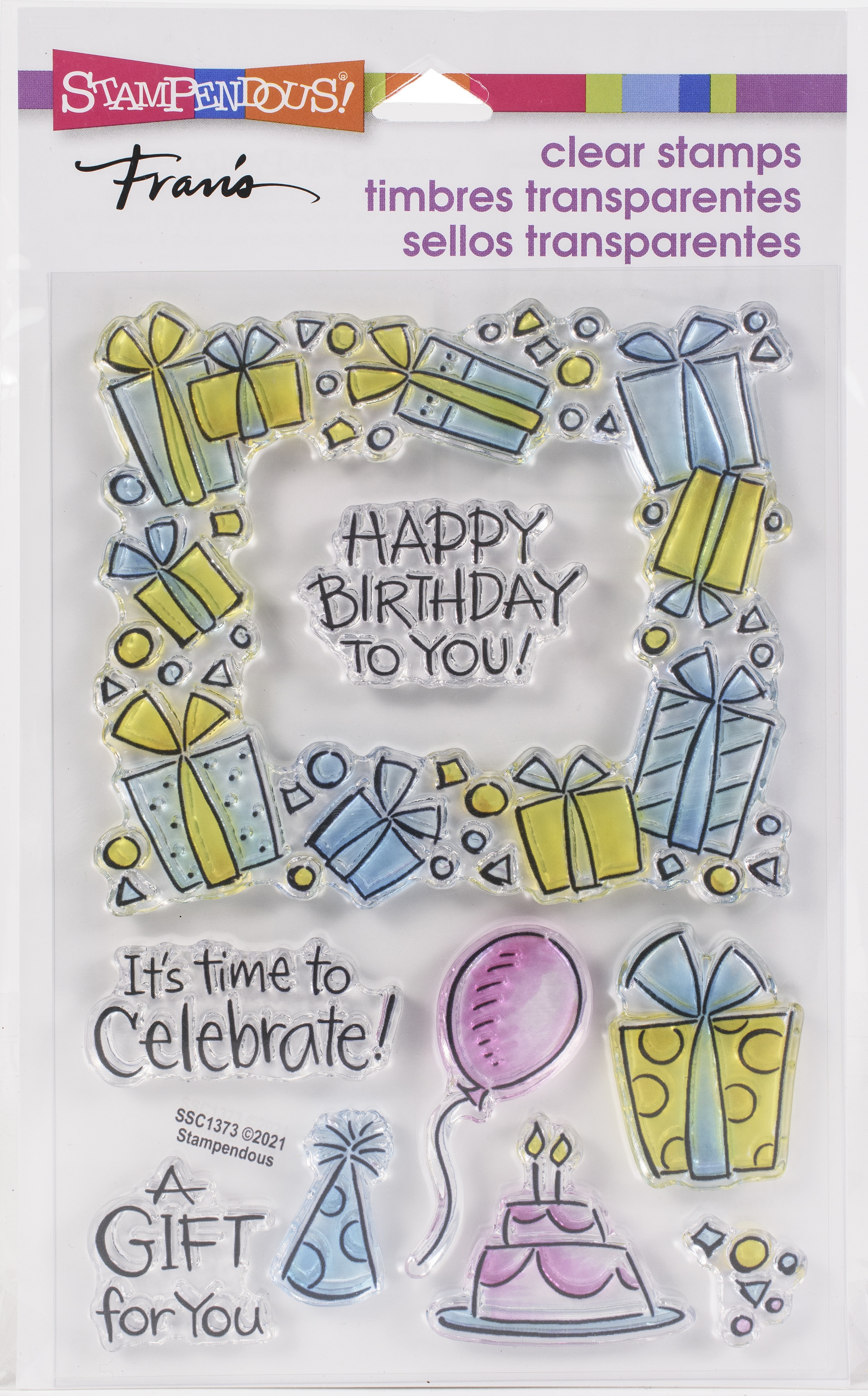 Stampendous Perfectly Clear Stamps-Gift Frame