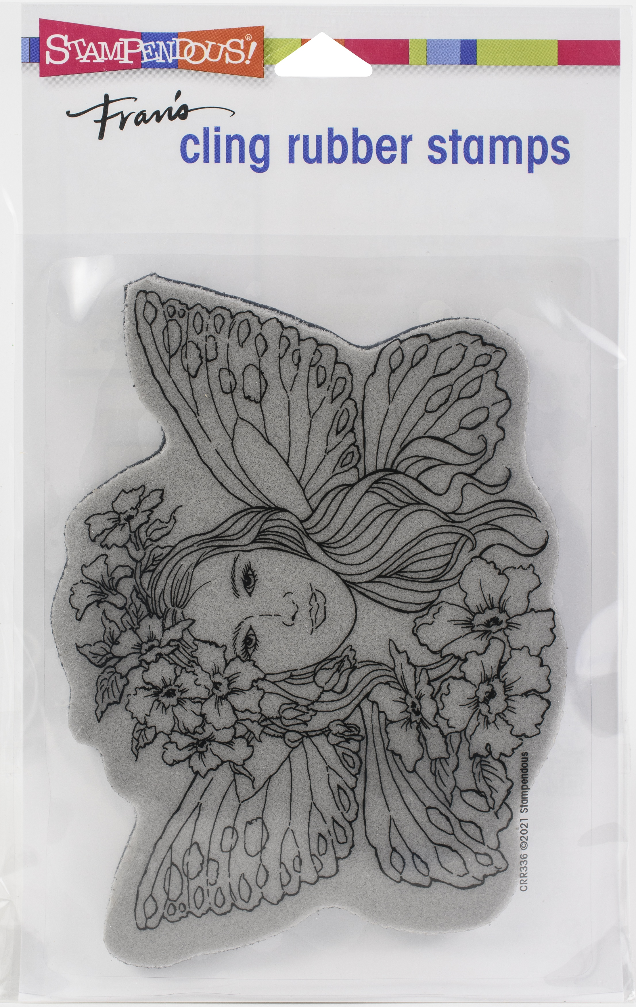 Stampendous Cling Stamp-Fairy Wings