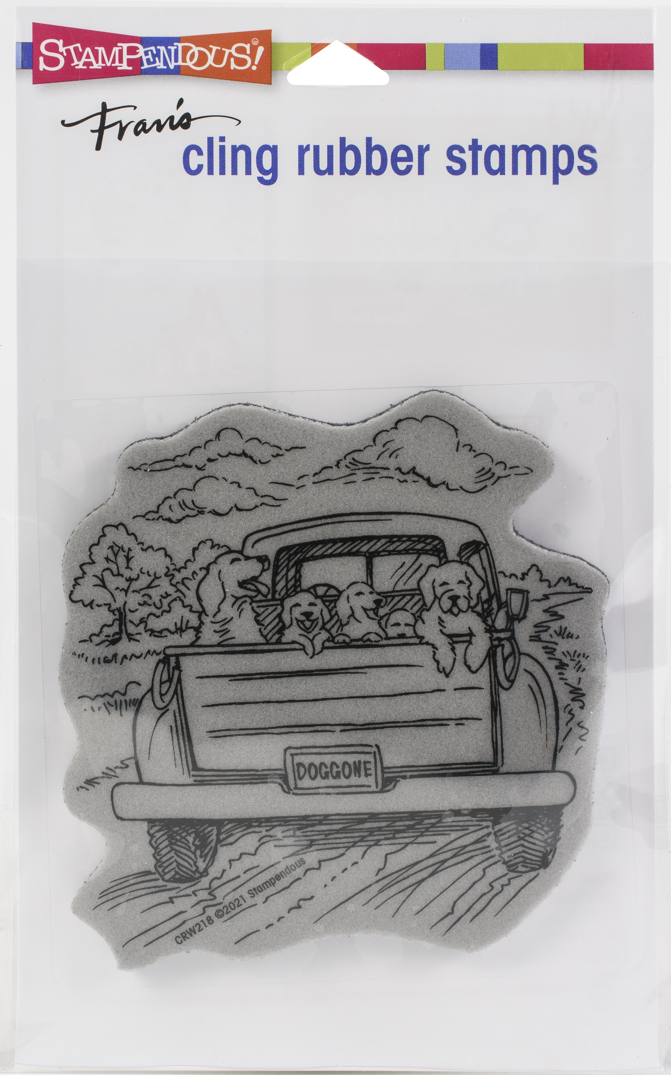 Stampendous Cling Stamp-Dog Gone