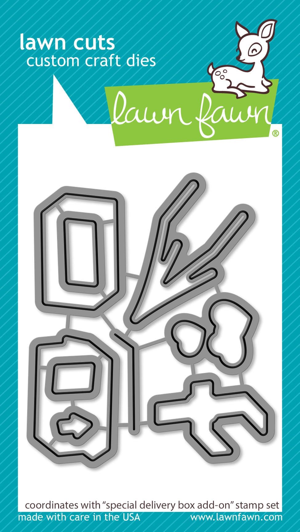 Lawn Cuts Custom Craft Die -Special Delivery Box Add-On