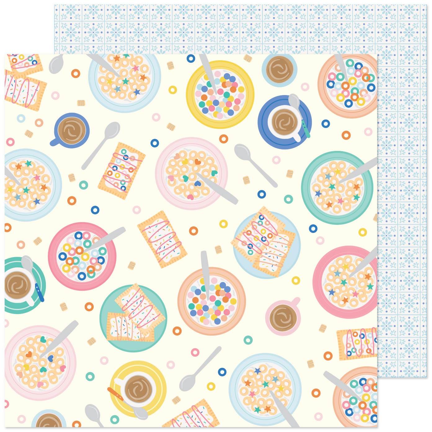 Click for more selections. Obed Marshall Buenos Dias Double-Sided Cardstock 12X12-Salud