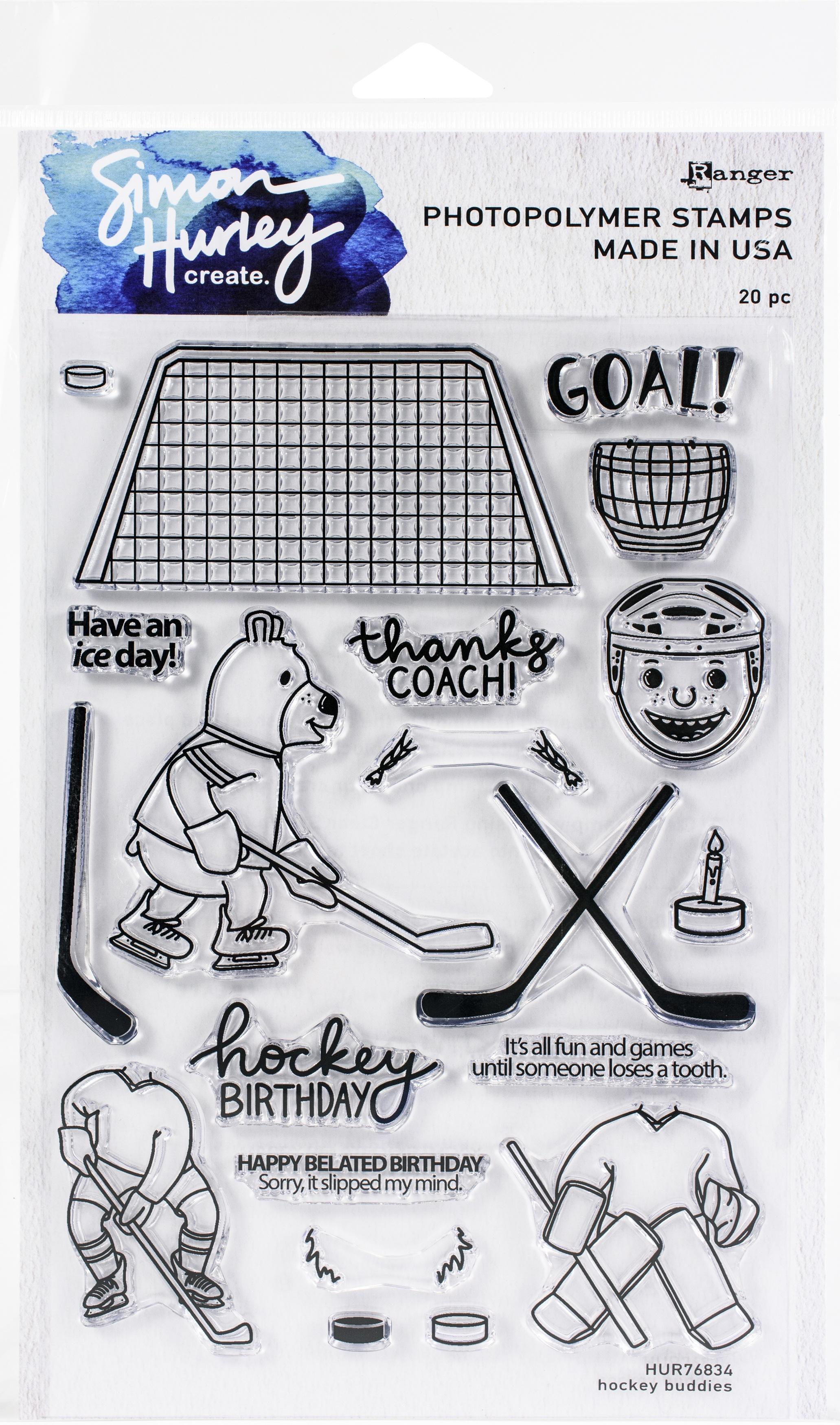 Hockey Buddies Stamps