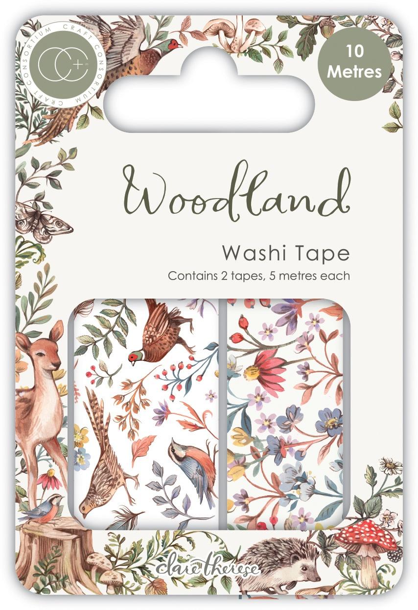 Woodland Washi Tape 2/Pkg