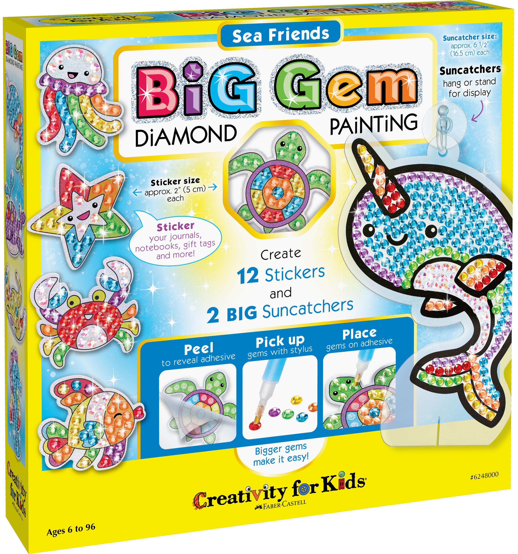 Big Gem Diamond Painting-Sea Friends