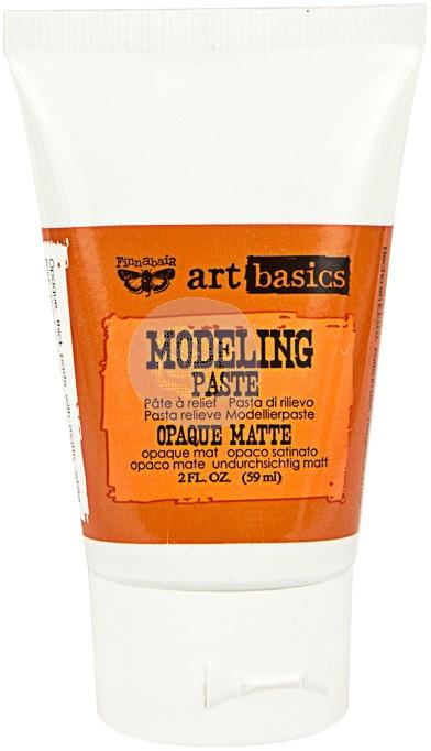 Finnabair Art Basics Modeling Paste 2oz Opaque Matte