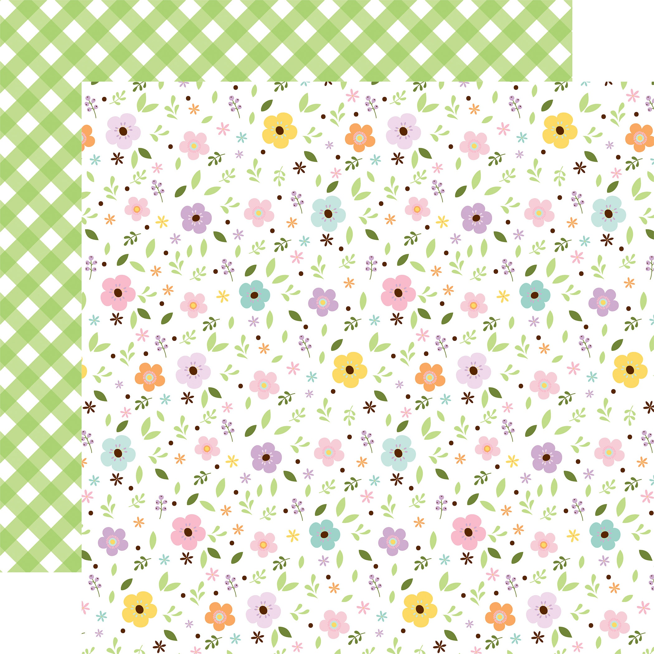 Welcome Easter Double-Sided Cardstock 12X12-Pastel Petals