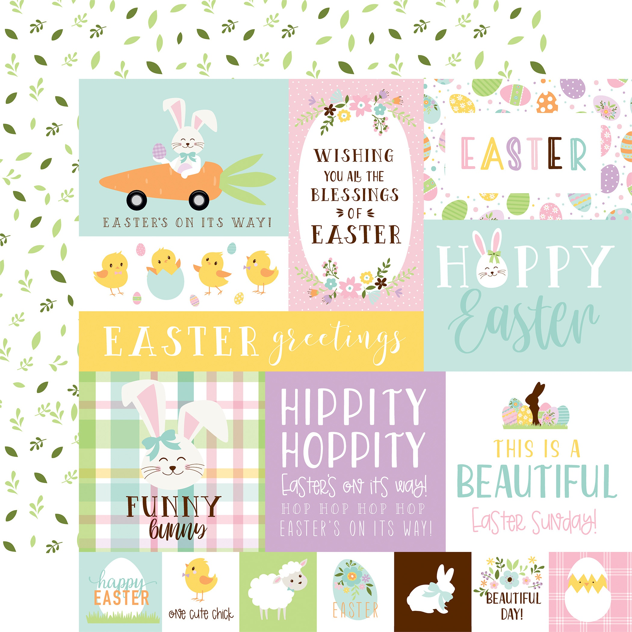 Welcome Easter Cardstock