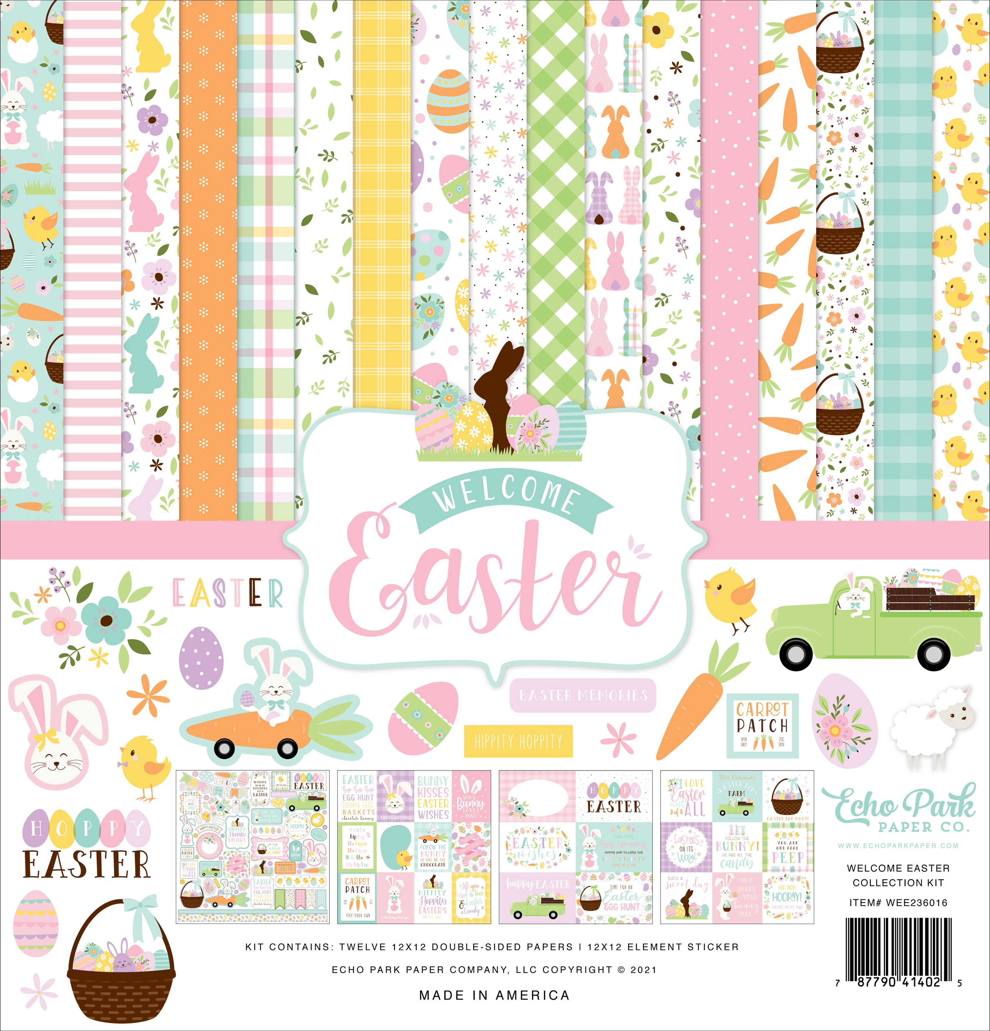 Echo Park Collection Kit 12X12-Welcome Easter