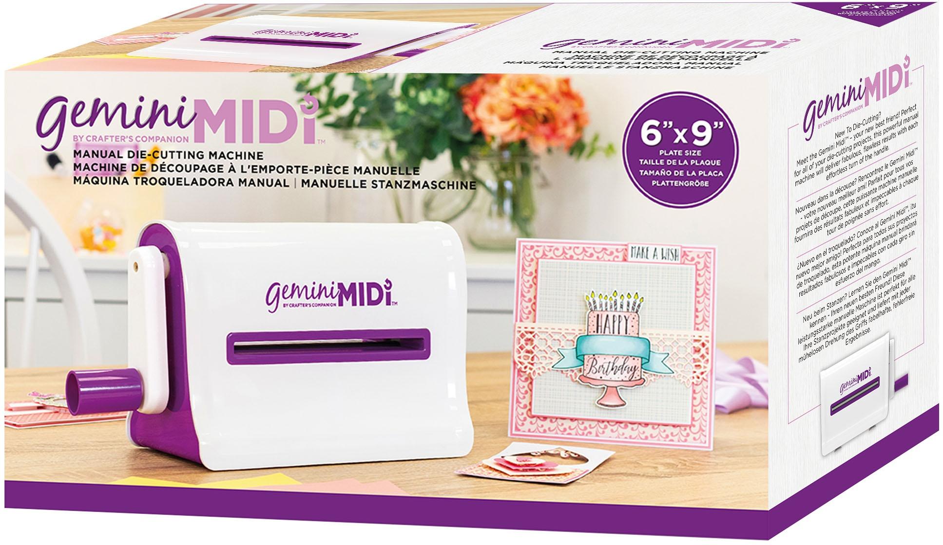 Gemini Midi Manual Die-Cutting & Embossing Machine-