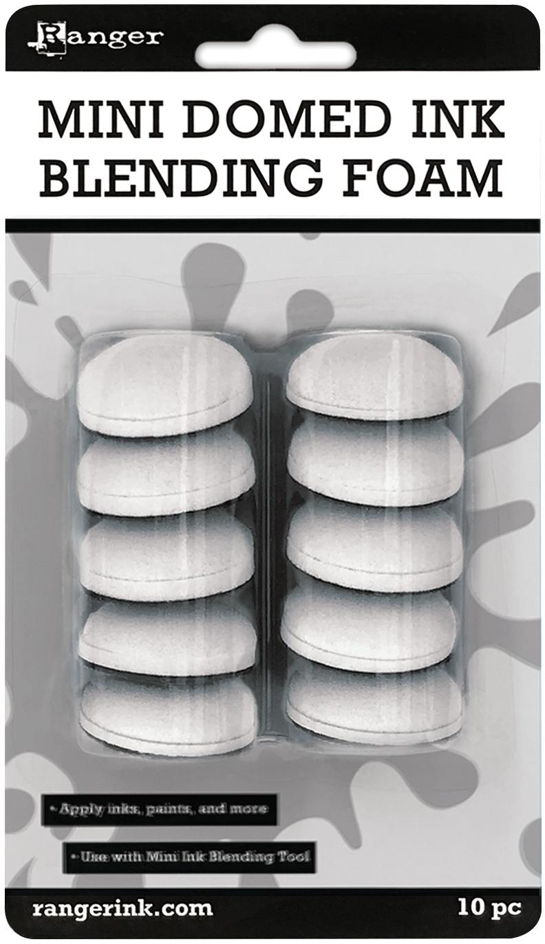 Mini Domed Ink Blending Foams 10/Pkg-For IBT40965