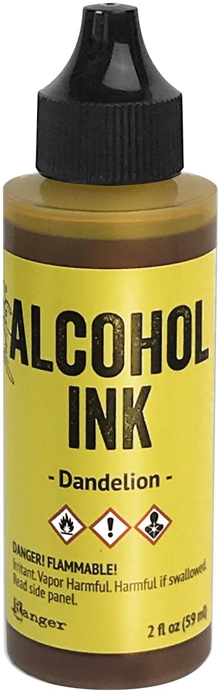 Tim Holtz Alcohol Ink 2oz-Dandelion