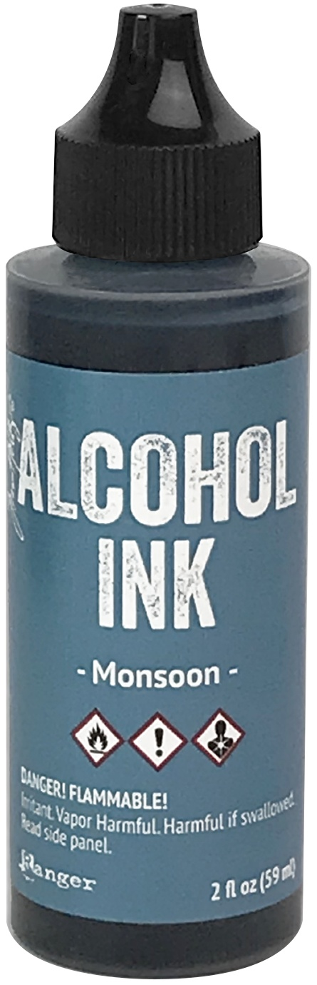 Tim Holtz Alcohol Ink 2oz-Monsoon