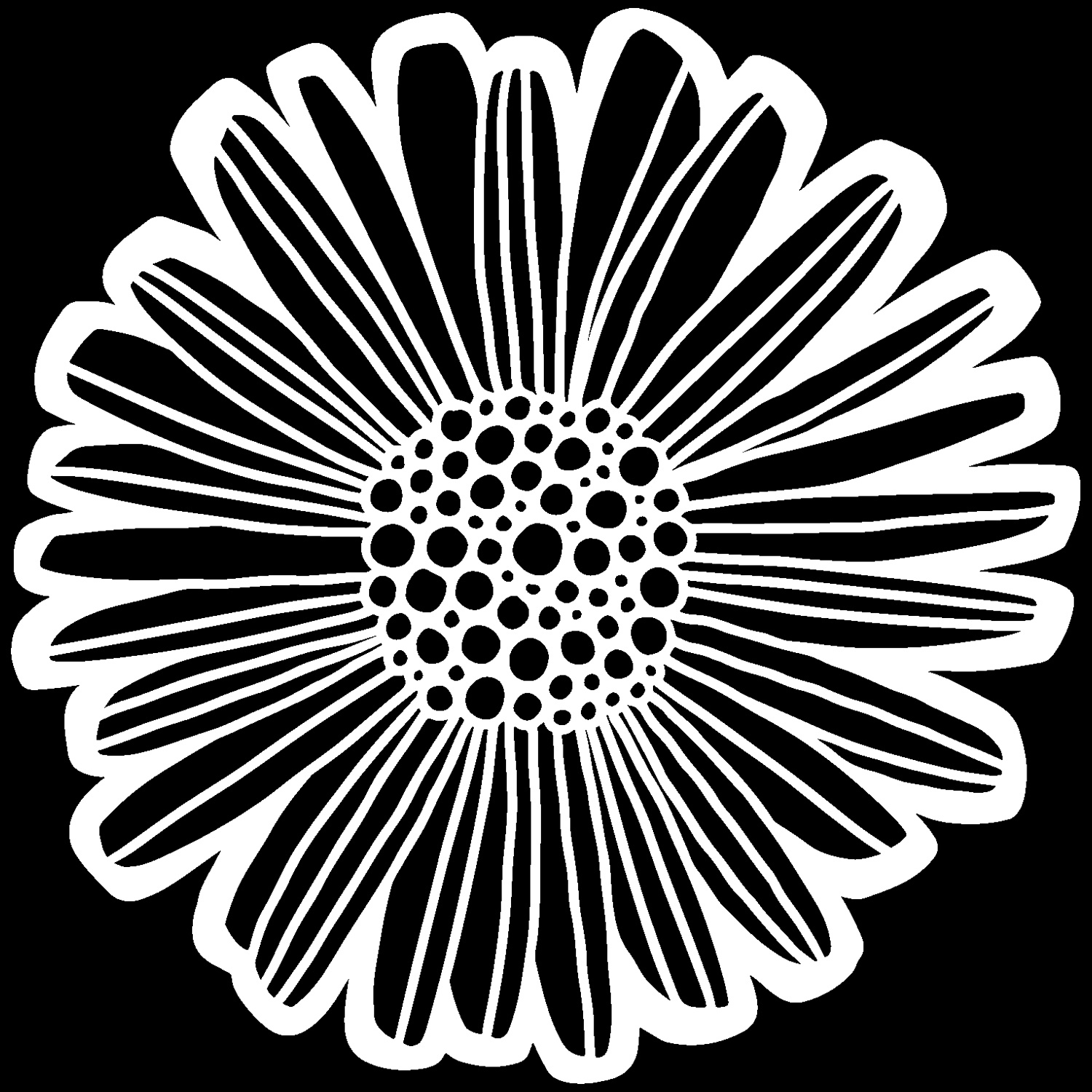 Crafter's Workshop Template 6X6-Felicia Daisy