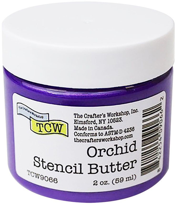 Crafter's Workshop Stencil Butter 2oz-Orchid