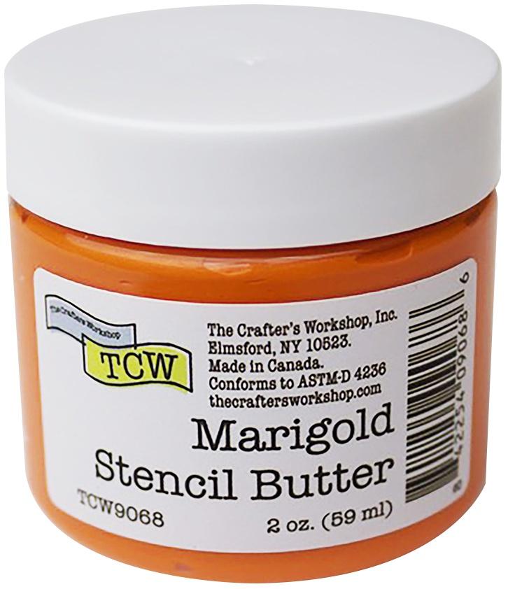 Crafter's Workshop Stencil Butter 2oz-Marigold