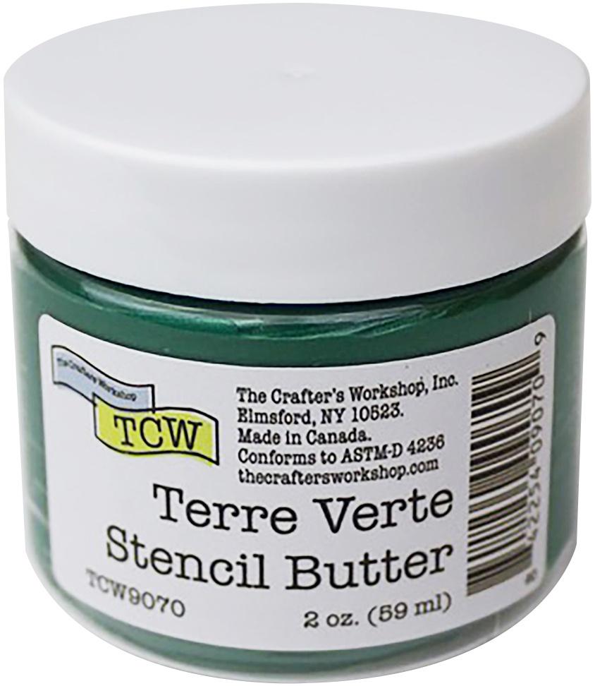 Crafter's Workshop Stencil Butter 2oz-Terre Verte