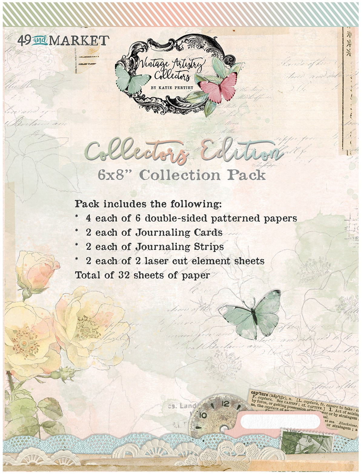 49 And Market Collection Pack 6X8-Vintage Artistry In Color Vol