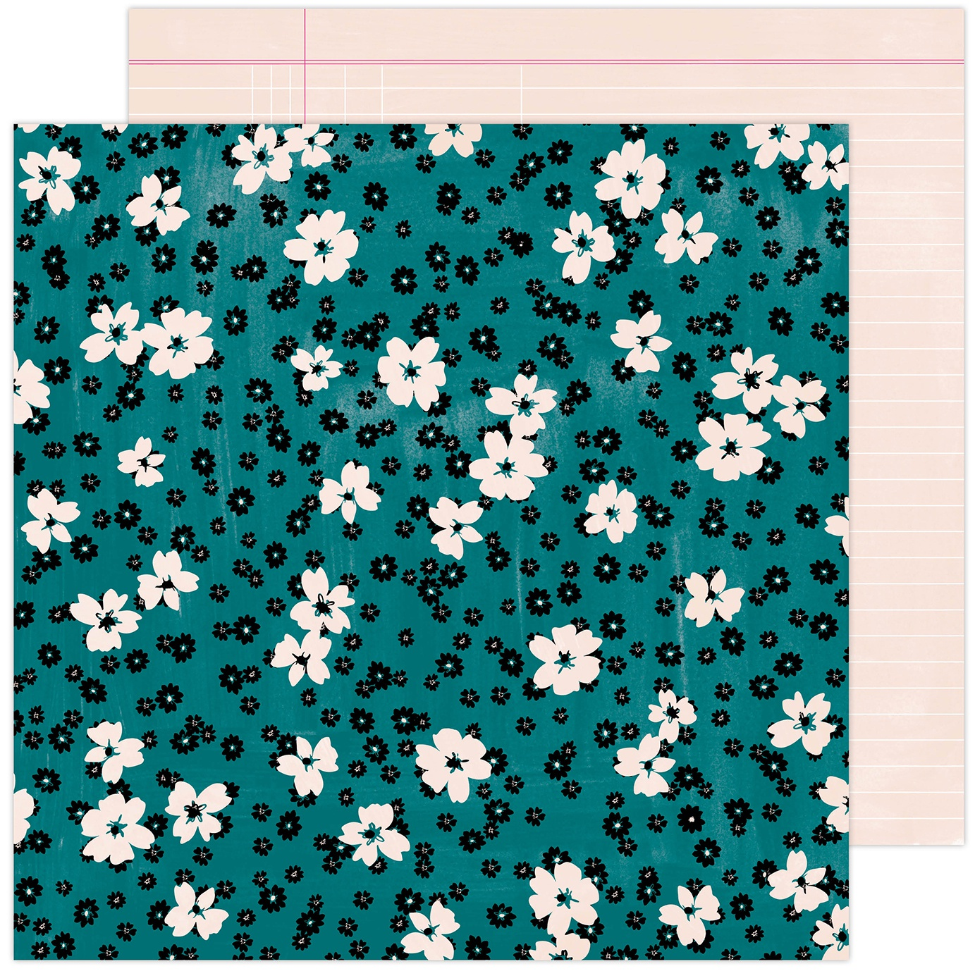 Amy Tan Brave & Bold Double-Sided Cardstock 12X12-Floral Fantasy