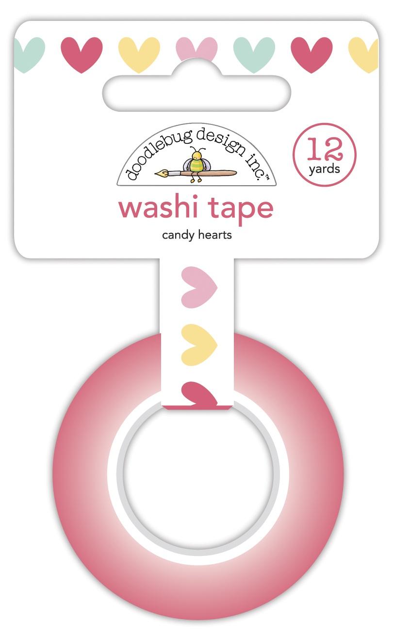 Doodlebug - Candy Hearts Washi Tape