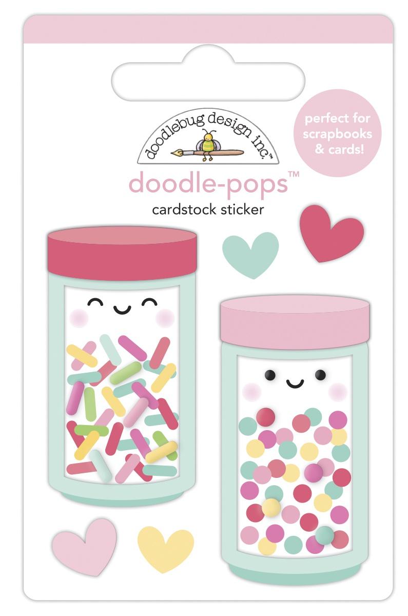 Doodlebug Doodle-Pops 3D Stickers-Sprinkle Shoppe