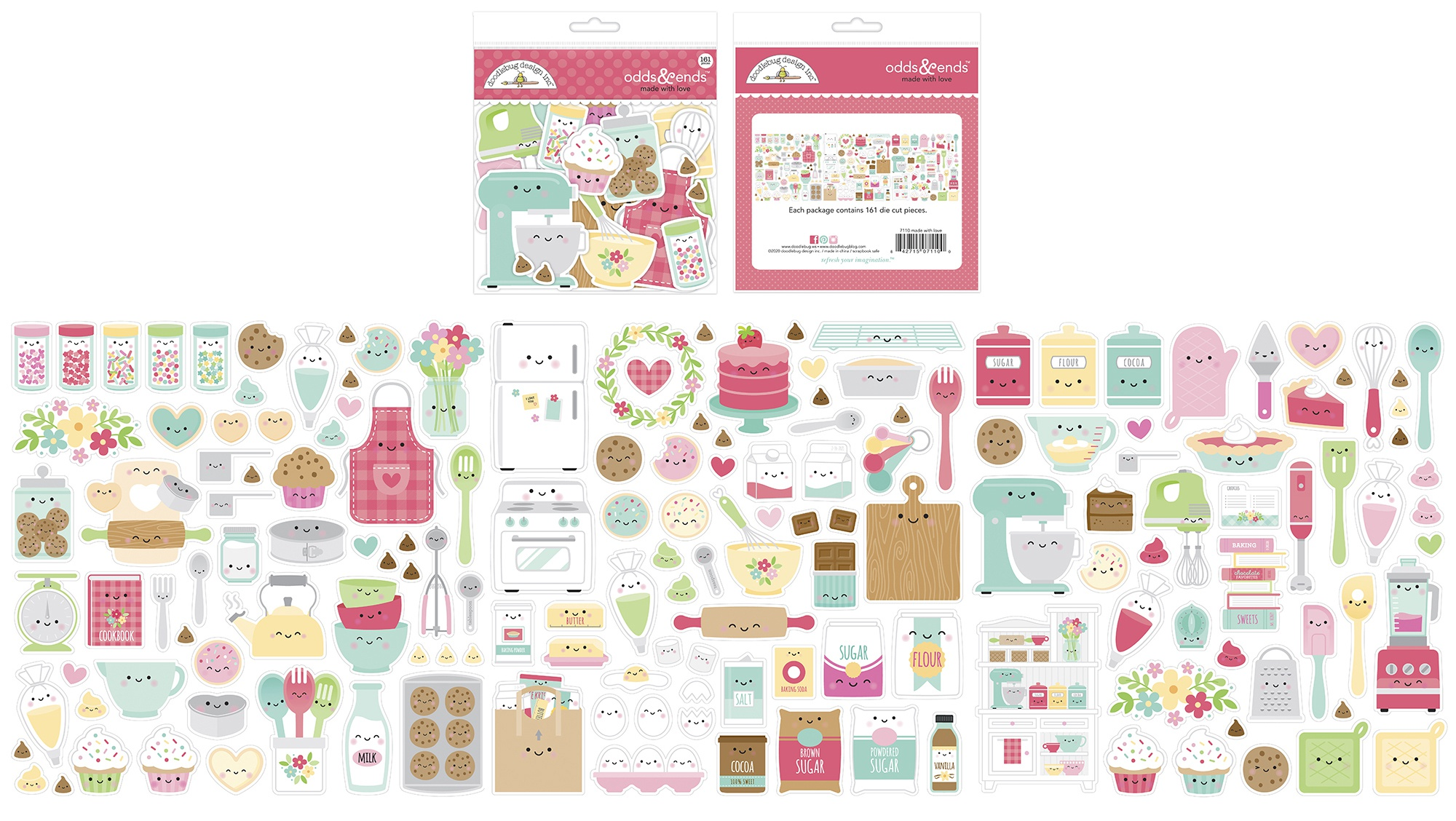 Doodlebug Odds & Ends Die-Cuts-Made With Love