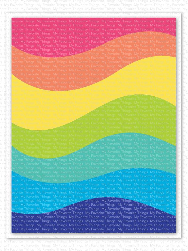 My Favorite Things Die-namics Die-Color Wave Cover-Up