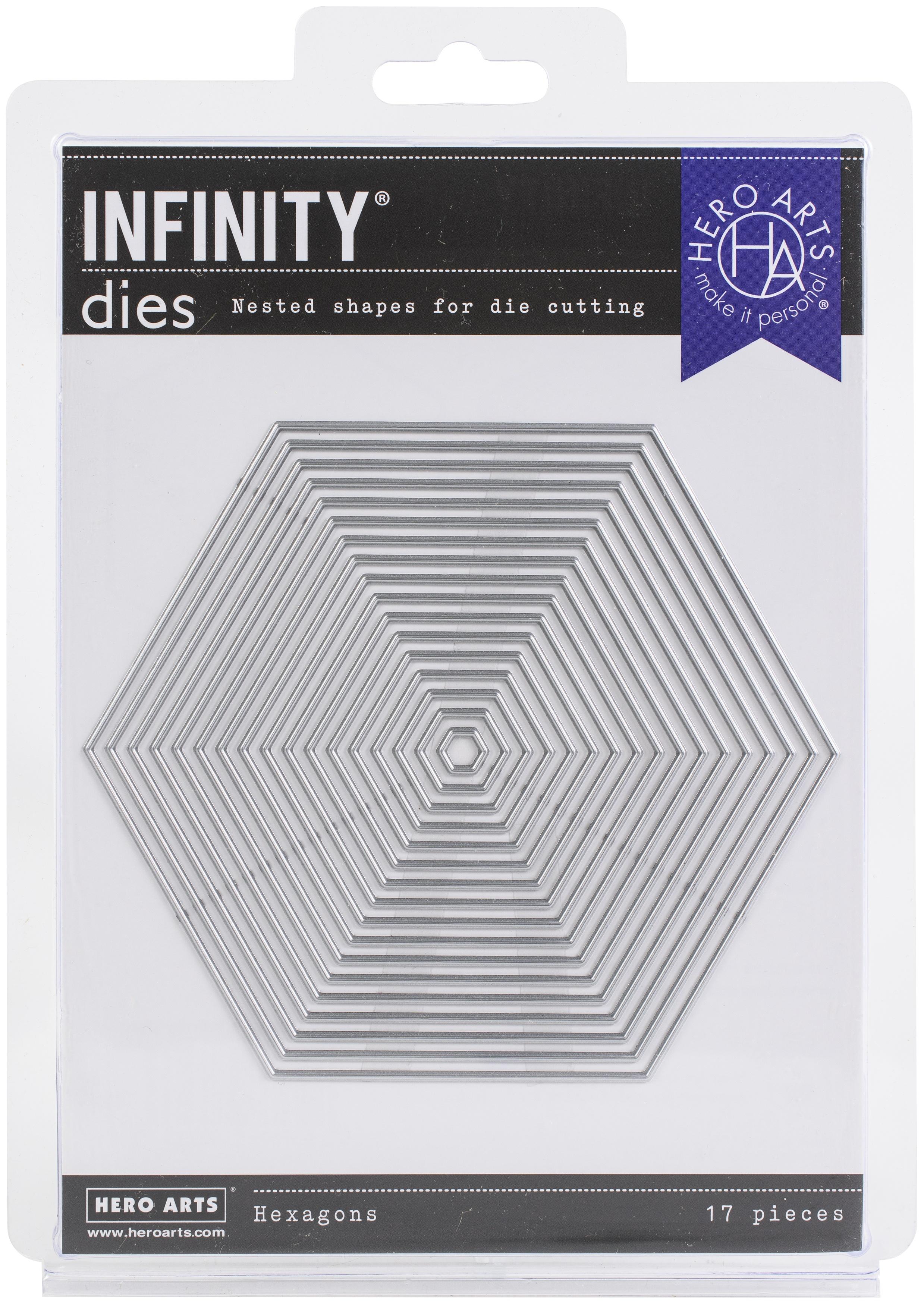 Hero Arts Infinity Dies-Hexagon