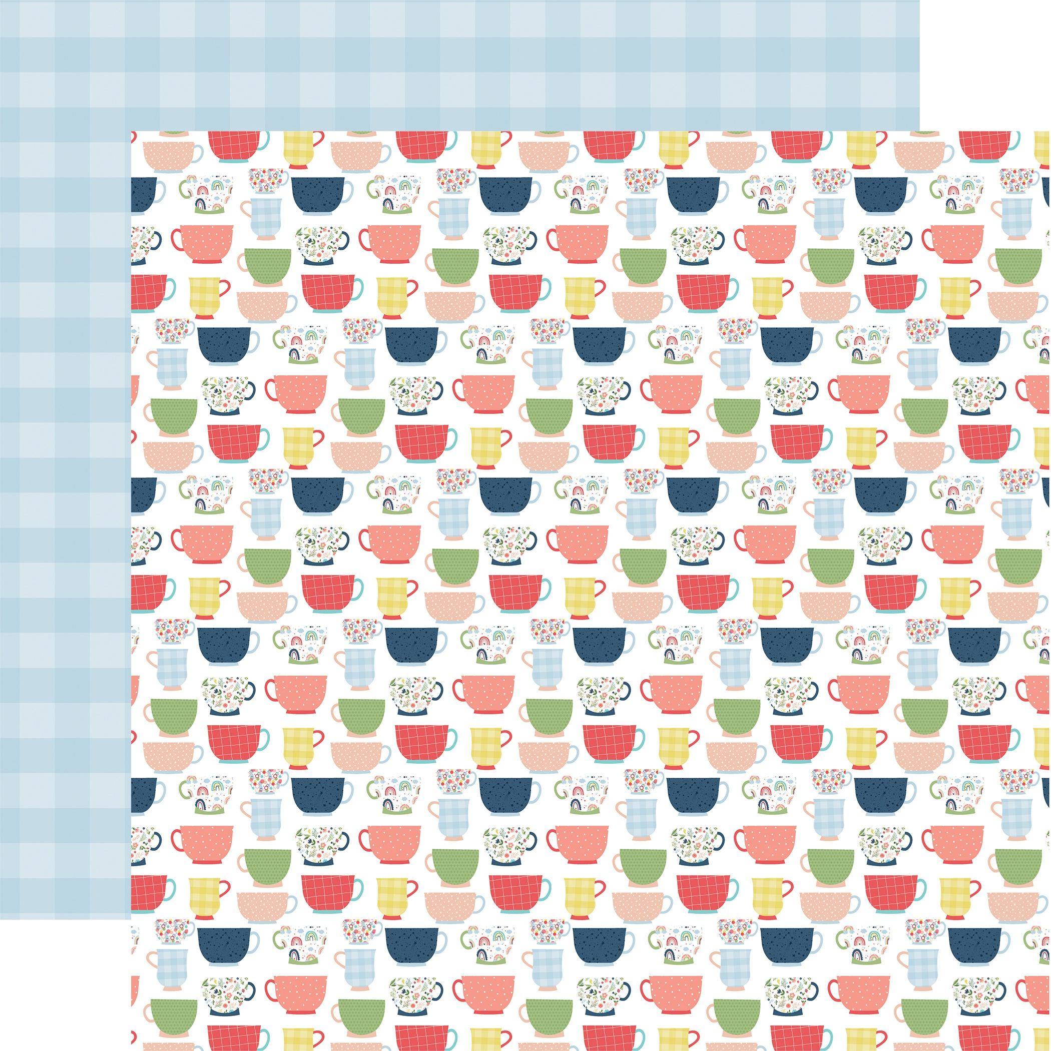Little Dreamer Girl Double-Sided Cardstock 12X12-Cross Your Teas