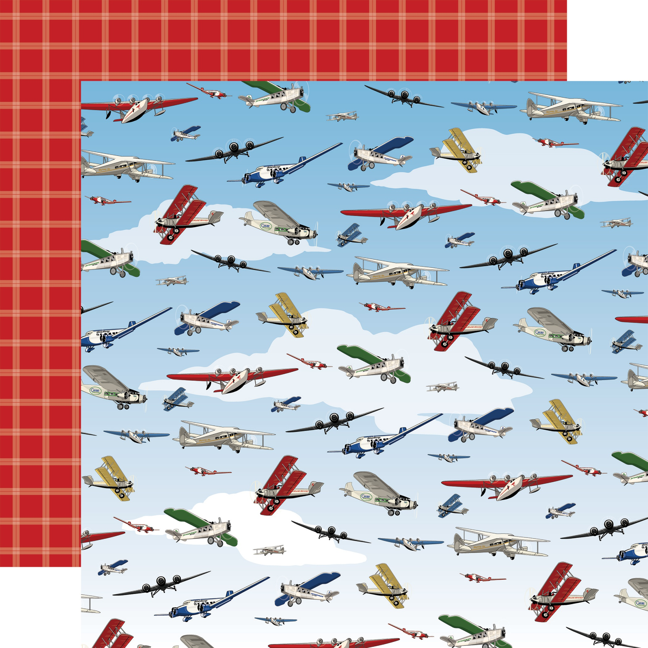 COLLECTION: Our Travel Adventure Double-Sided Cardstock 12X12