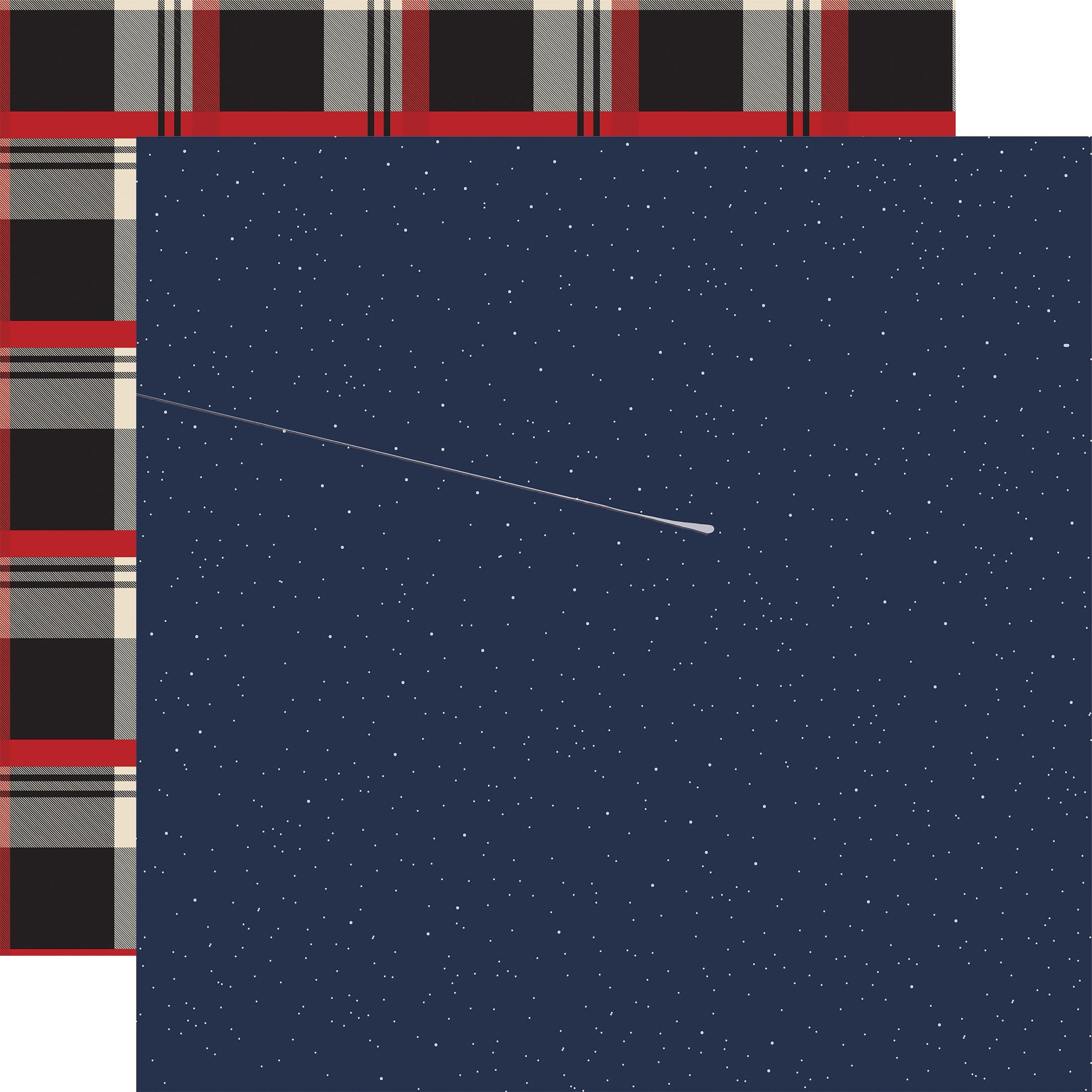 Outdoor Adventures Double-Sided Cardstock 12X12-Night Sky