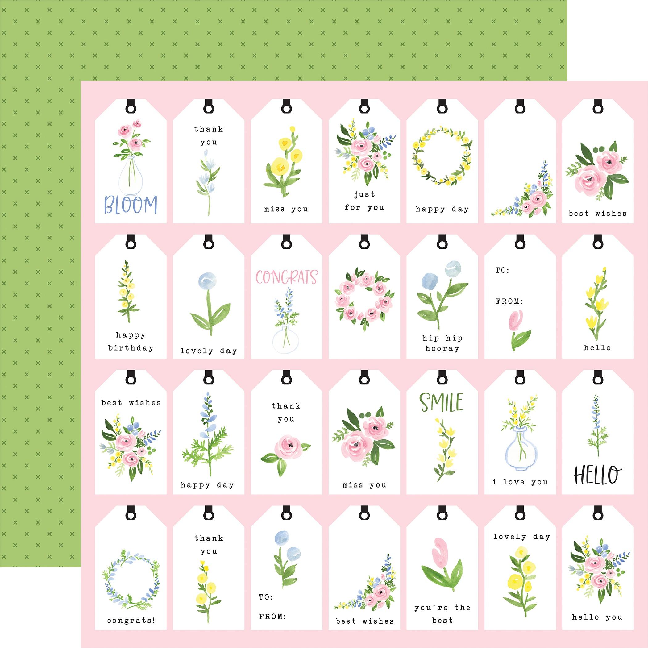 CB Flora #4 - Pastel Tags