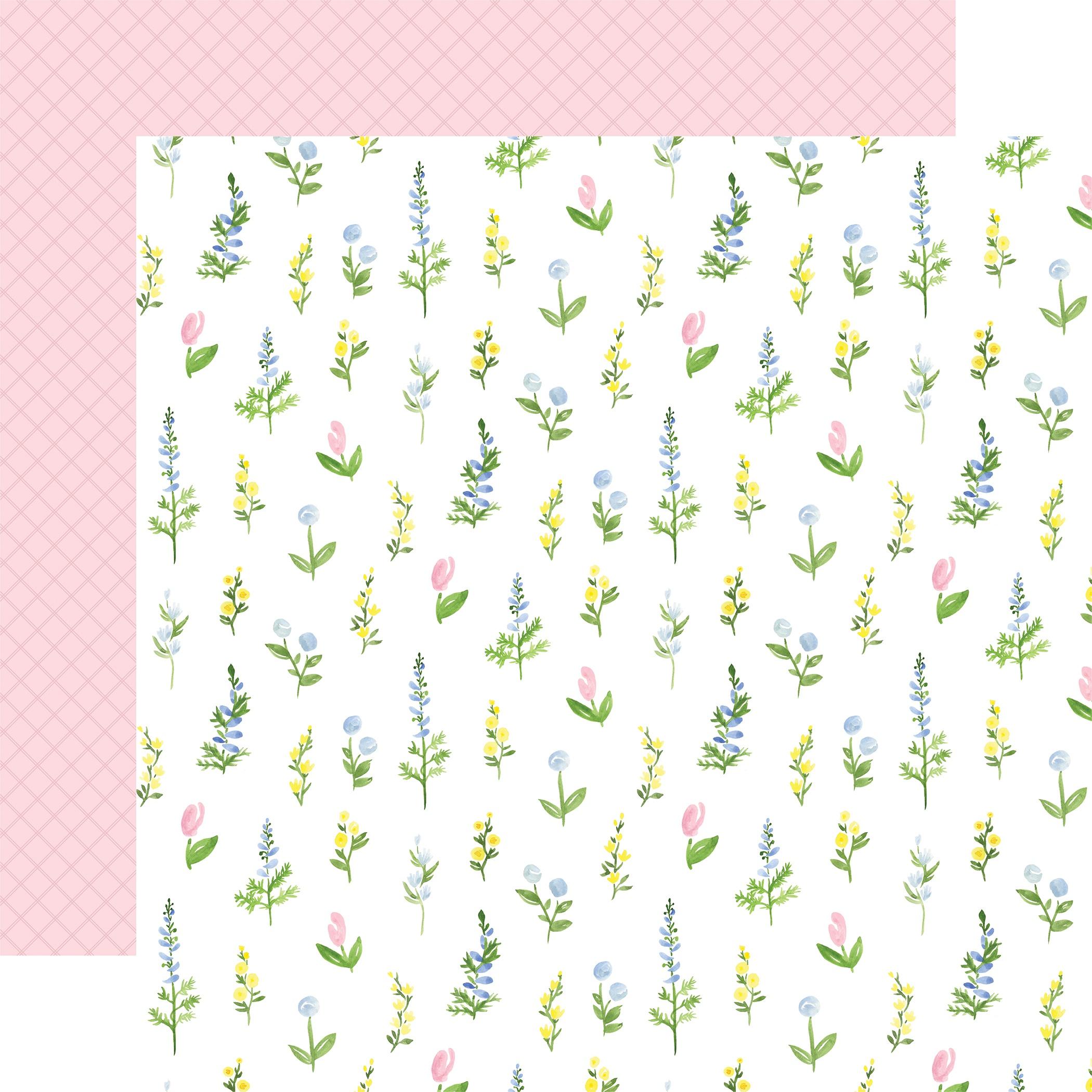 Flora No 4- 12x12 Cardstock