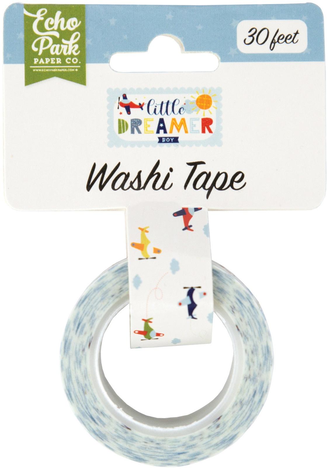 Little Dreamer Boy Washi Tape 30'-Airplanes