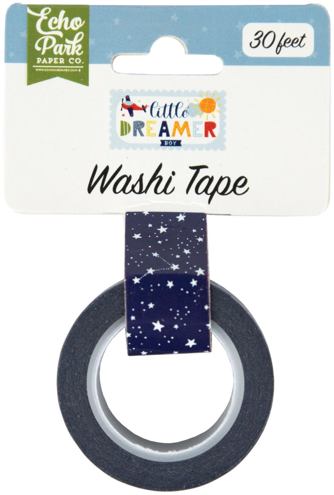 Little Dreamer Boy Washi Tape 30'-Starry Night
