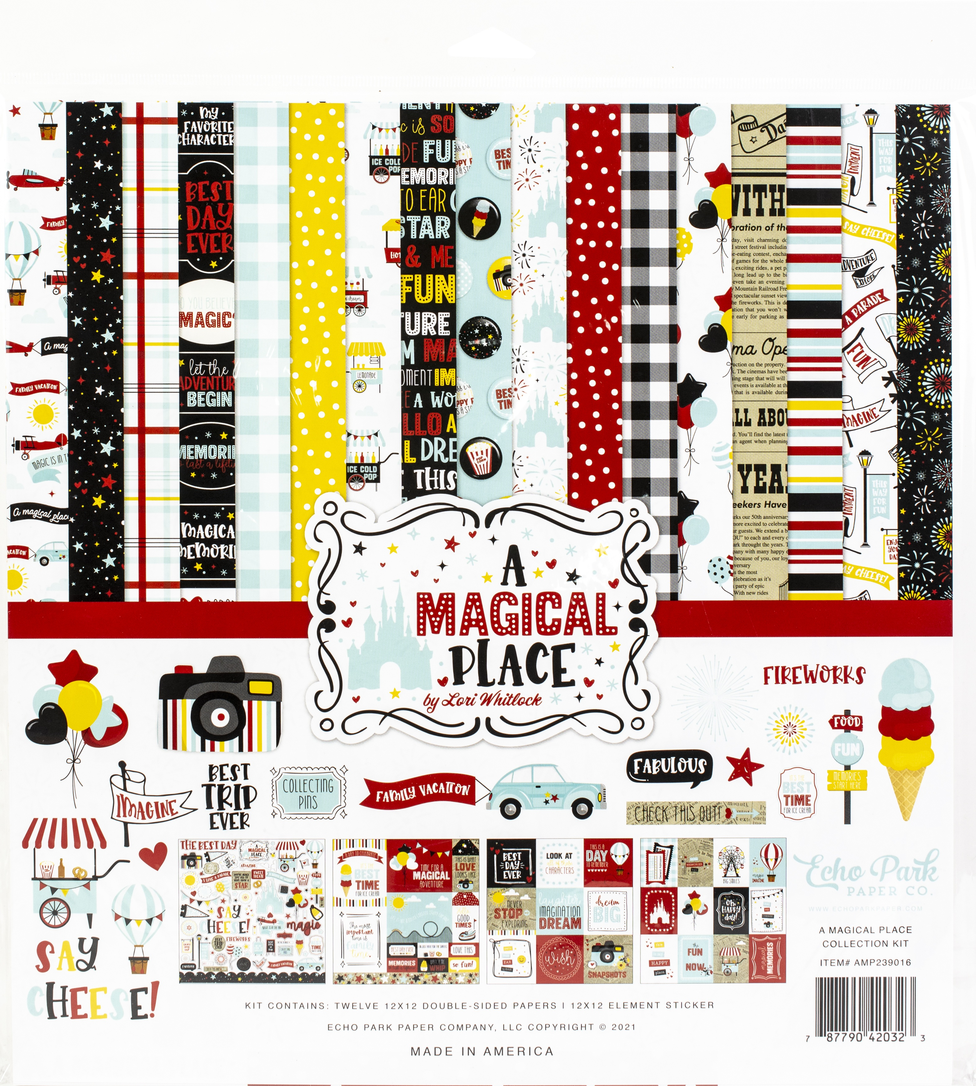 Echo Park Collection Kit 12x12 - A Magical Place