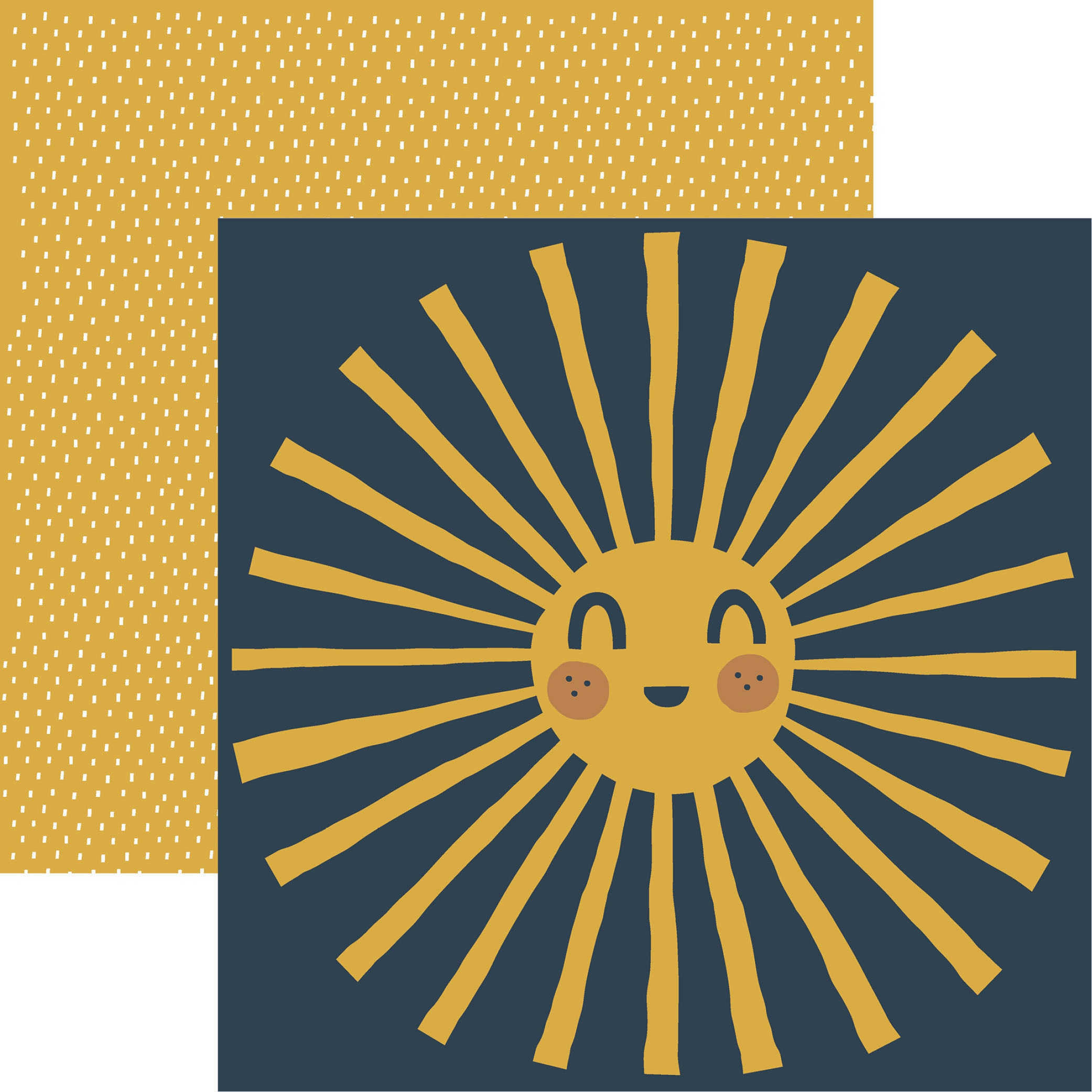 Click her for more images Be Kind Double-Sided Cardstock 12X12-Sunshine