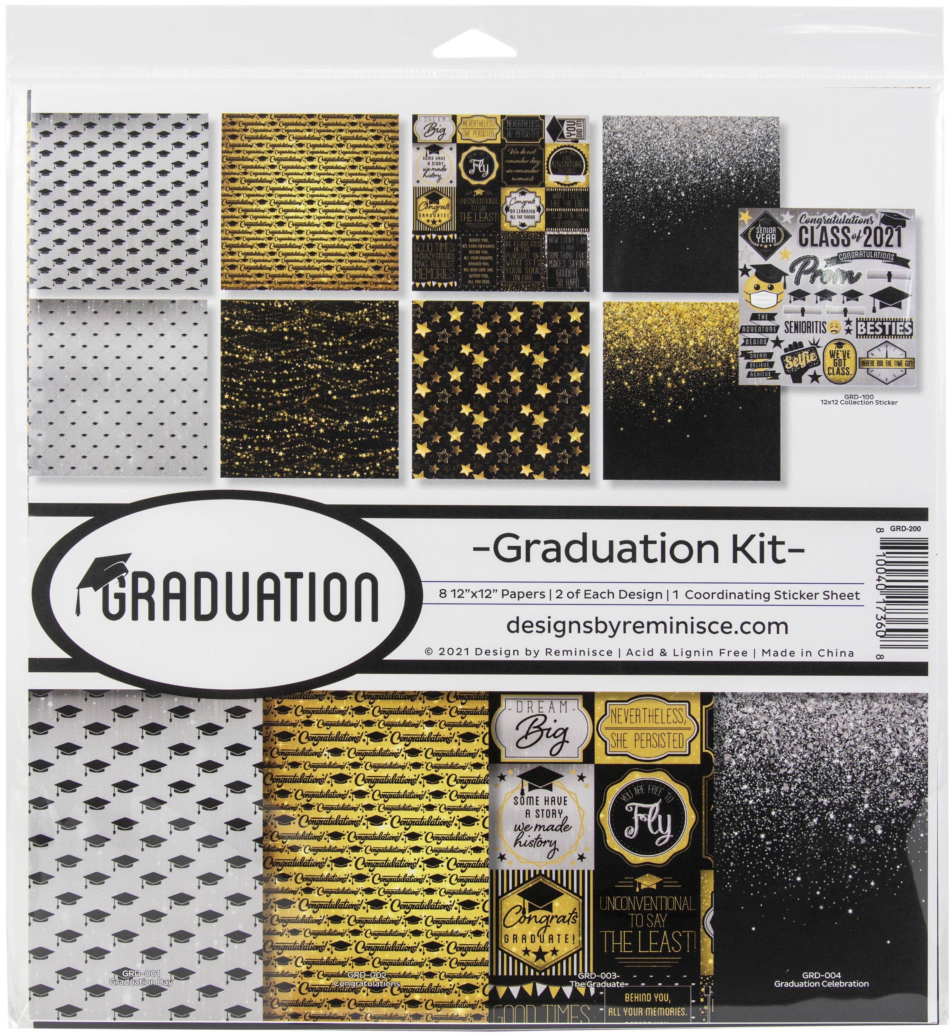 Reminisce Collection Kit 12X12-Graduation