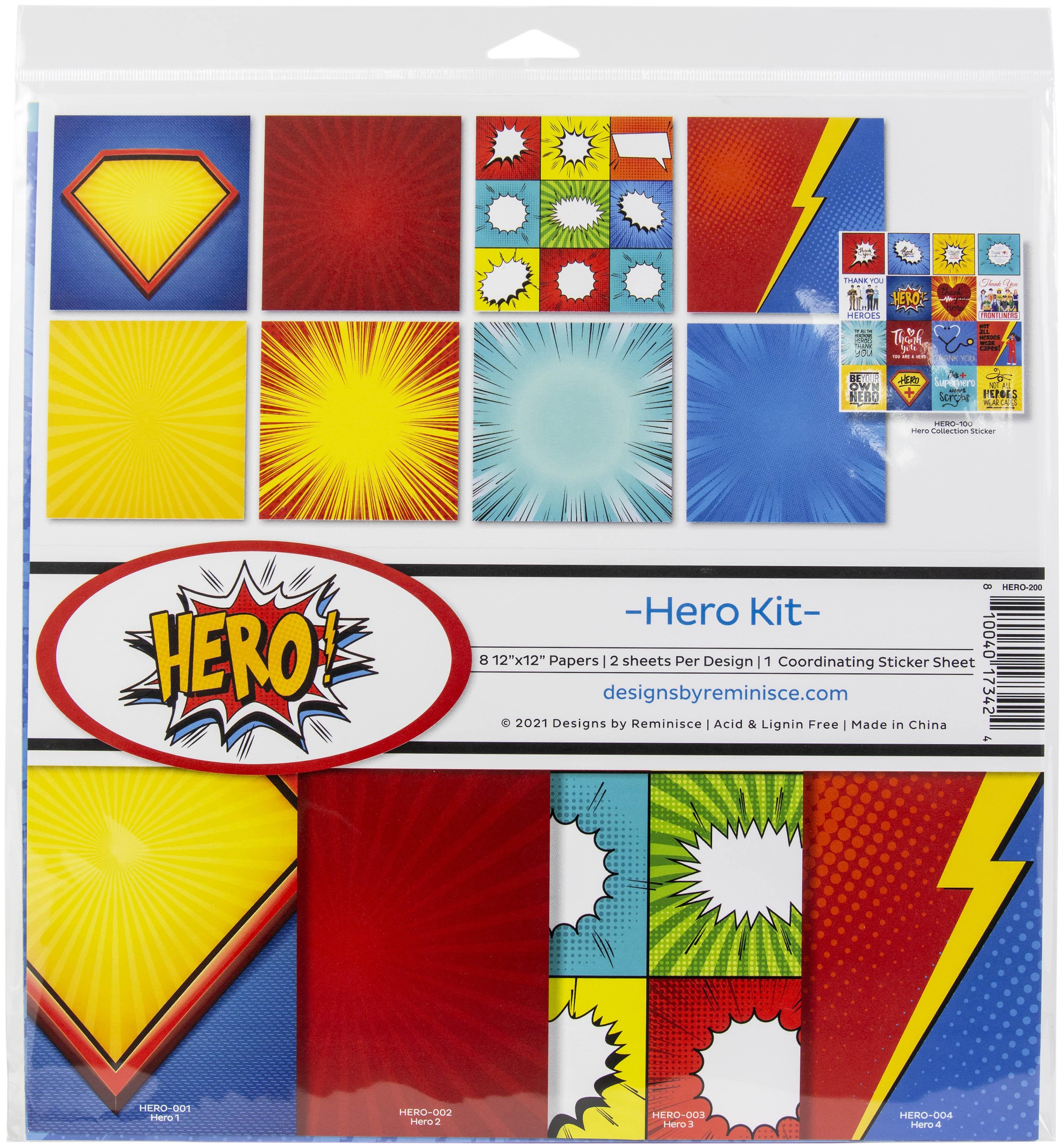 Reminisce Collection Kit 12X12-Hero