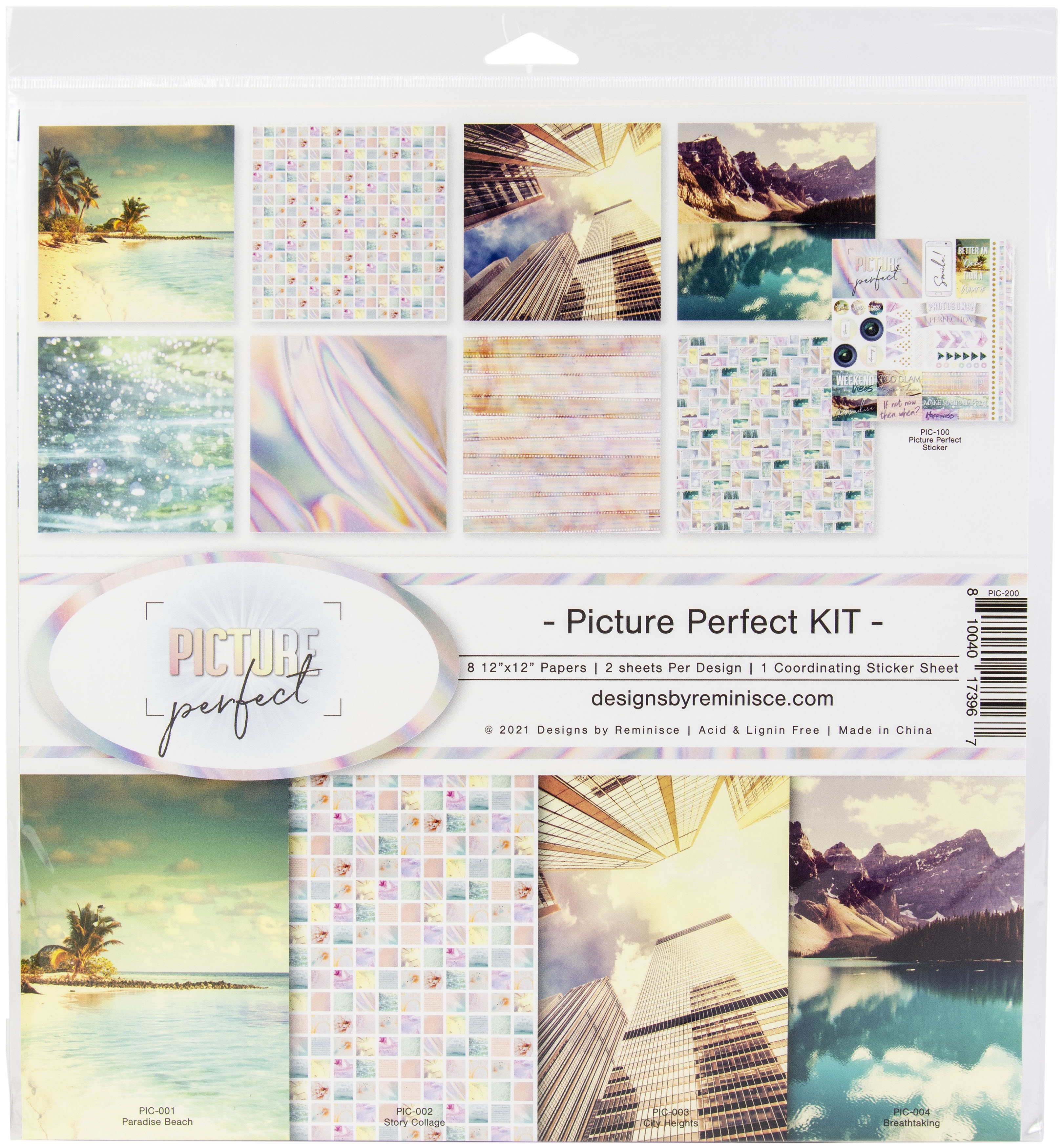 Reminisce Collection Kit 12X12-Picture Perfect