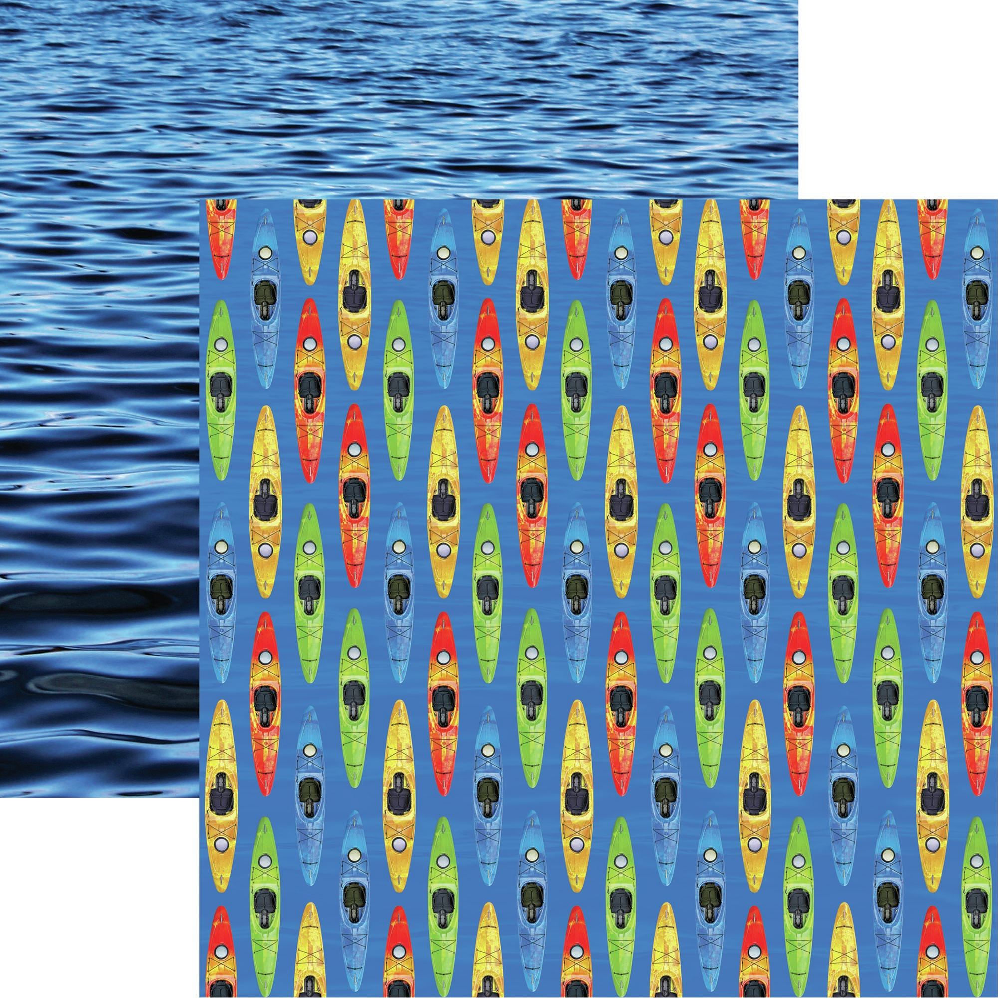COLLECTION: Watersports Double-Sided Cardstock 12X12