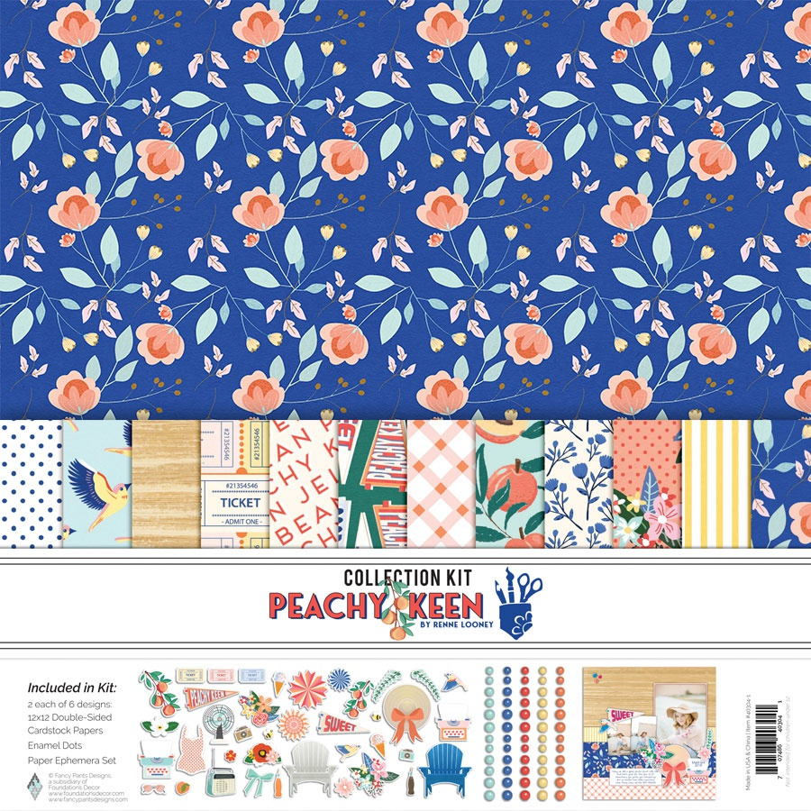 Fancy Pants Designs Collection Kit 12X12-Peachy Keen