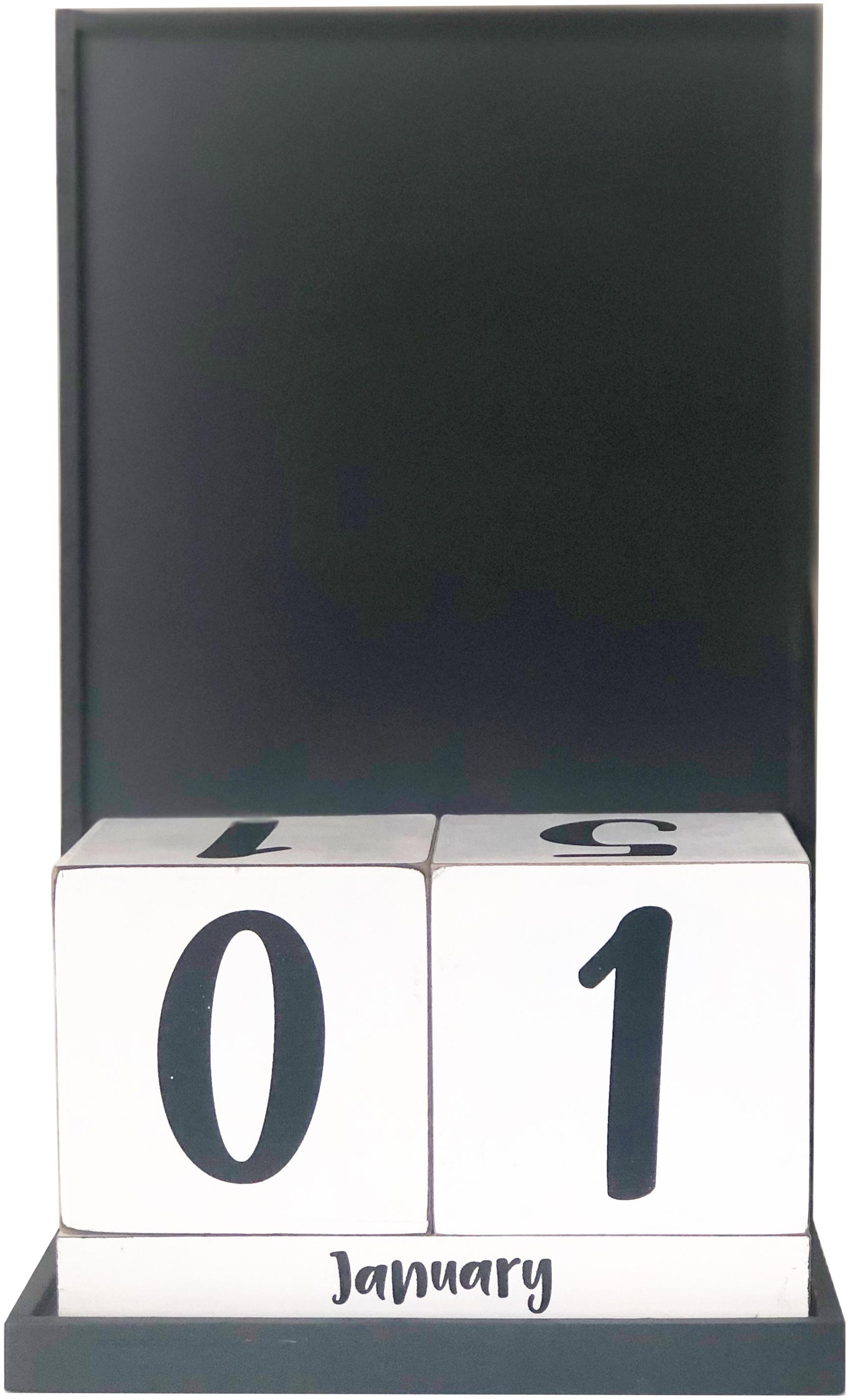 Foundations Decor Magnetic Block Countdown Calendar-Base- PREORDER