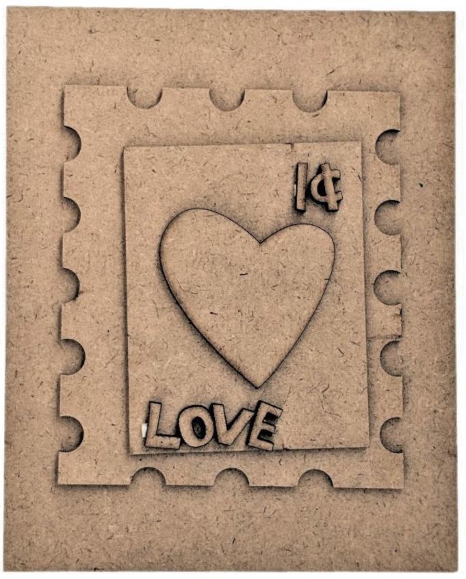 Foundations Decor Magnetic Block Countdown Calendar-February/Valentine's Day