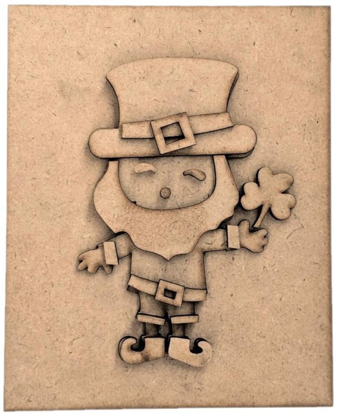 March/St. Patricks day-Foundations Decor Magnetic Block Countdown Calendar