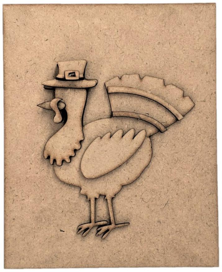 Foundations Decor Magnetic Block Countdown Calendar-November/Thanksgiving