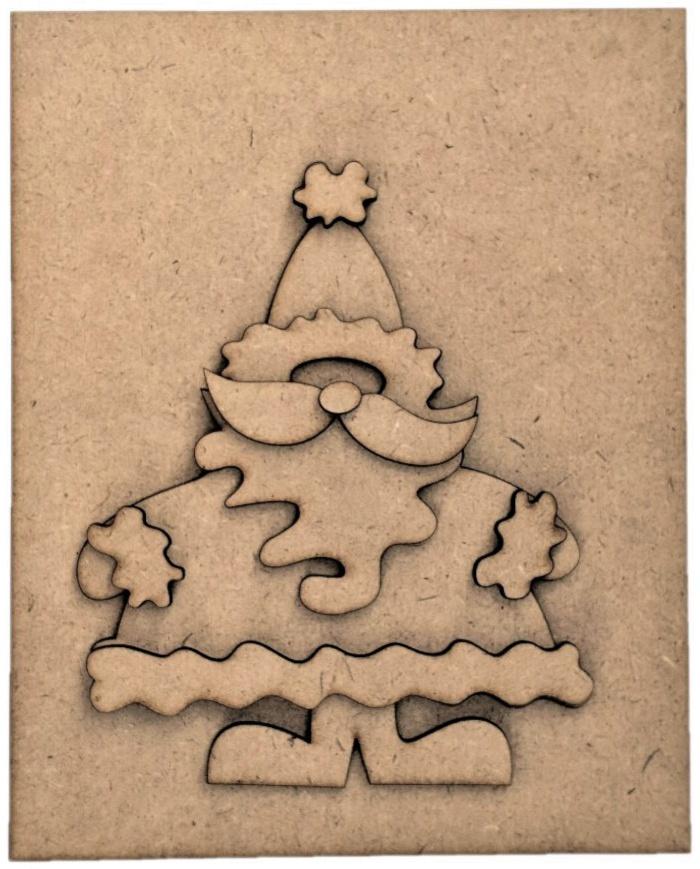 Foundations Decor Magnetic Block Countdown Calendar-December/Christmas