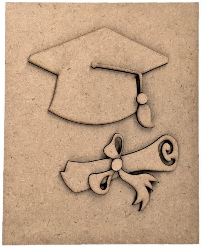 Graduation-Foundations Decor Magnetic Block Countdown Calendar-
