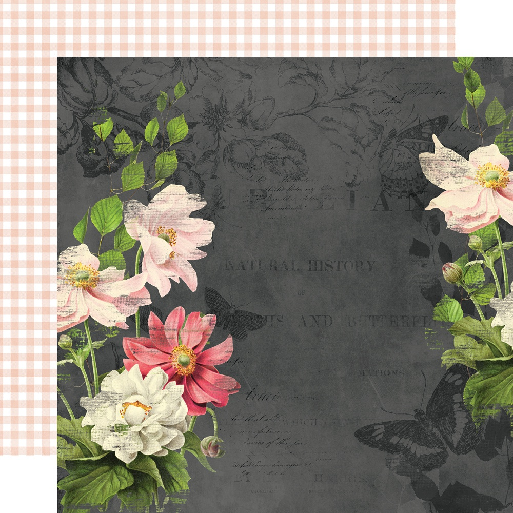 Simple Vintage Cottage Fields Double-Sided Cardstock 12X12-Embrace Each Day