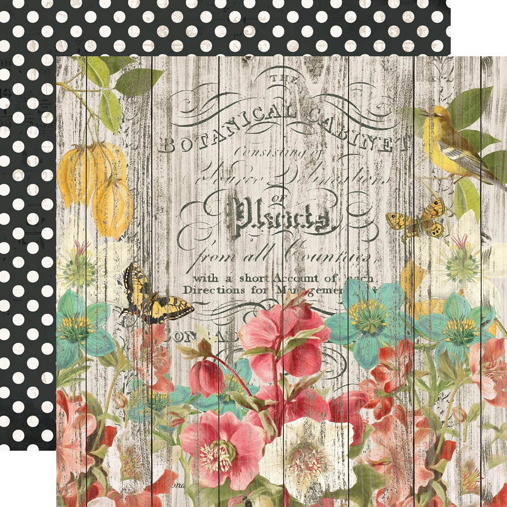 Simple Vintage Cottage Fields Double-Sided Cardstock 12X12-Natural Beauty
