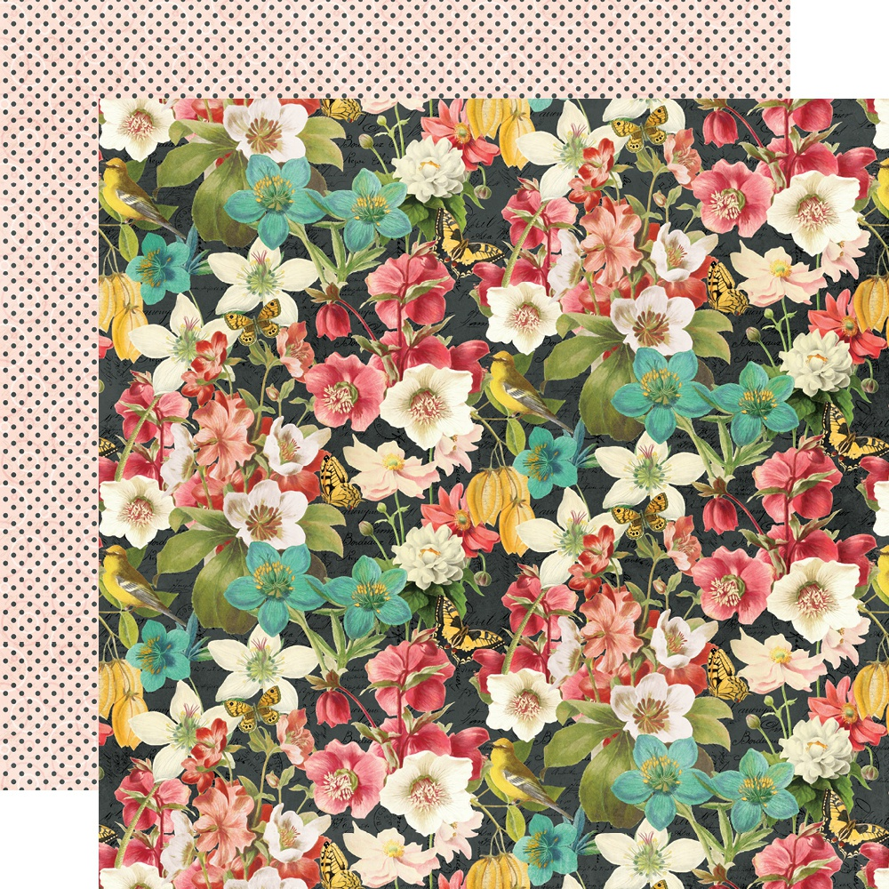 Simple Vintage Cottage Fields Double-Sided Cardstock 12X12-Simple Things